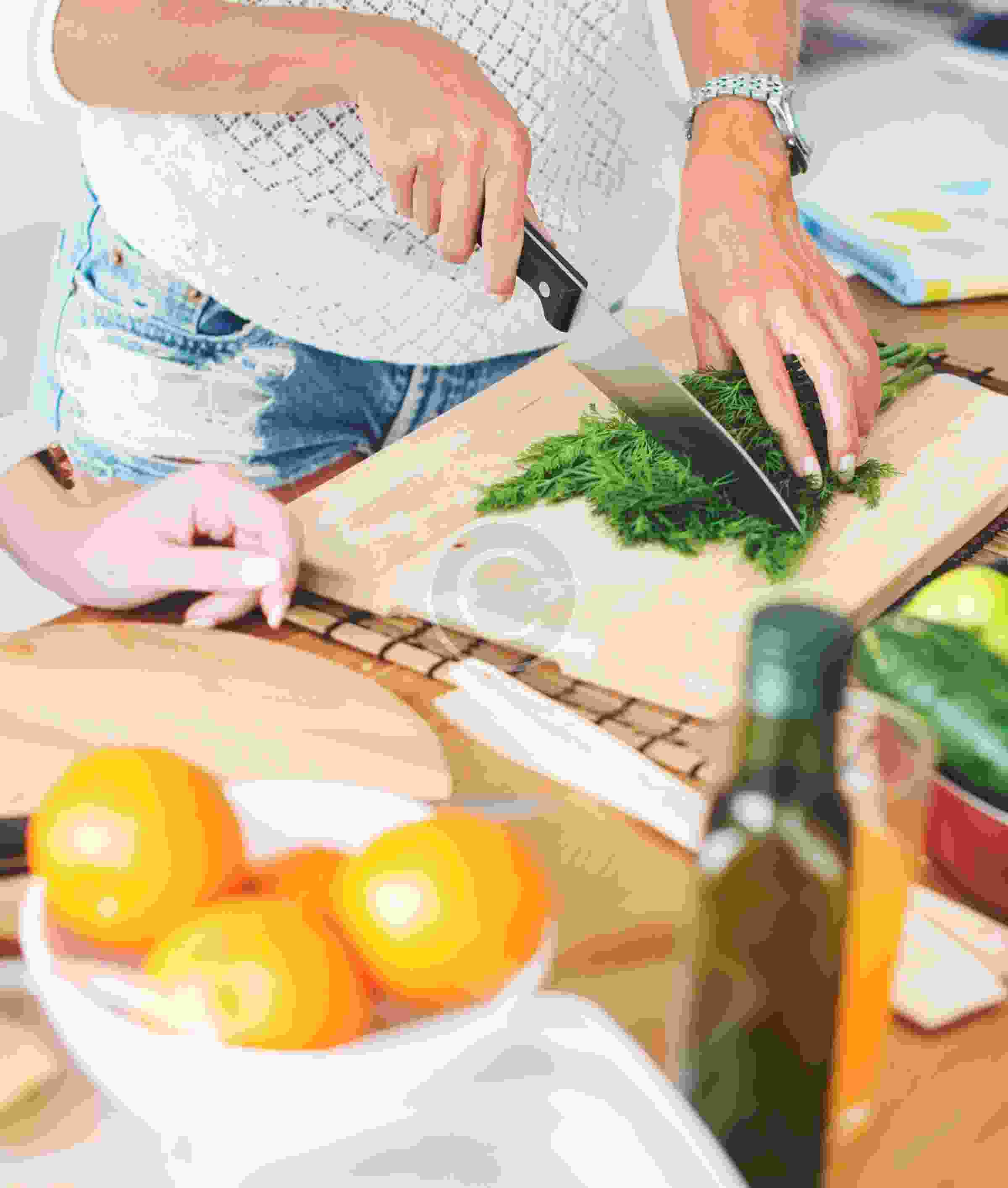 Learn about making various green salads at home