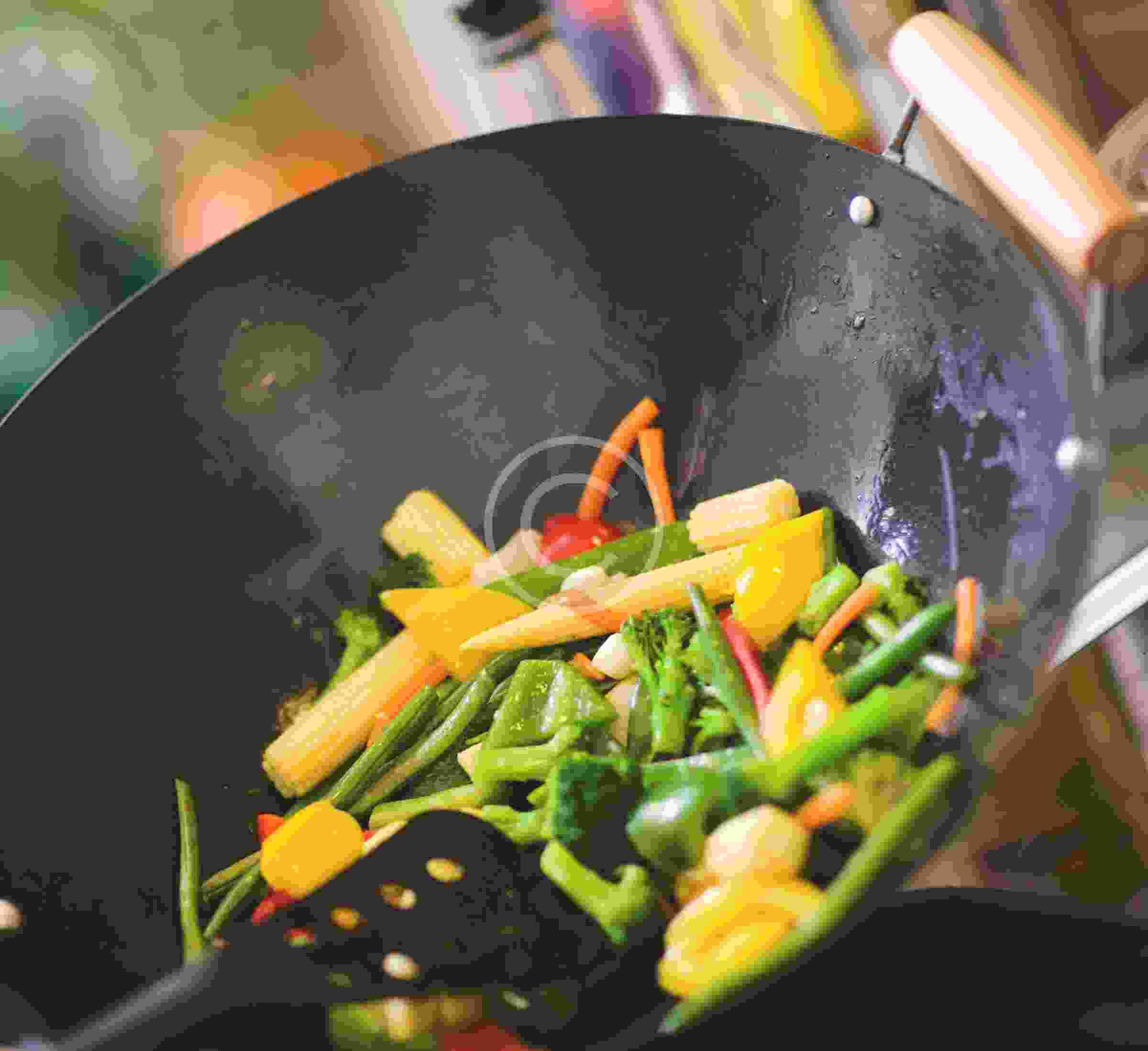 European Cuisine in Asian Wok